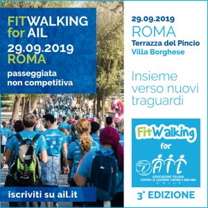 FITWALKING FOR AIL – INSIEME VERSO NUOVI TRAGUARDI