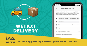 Nasce Wetaxi Delivery