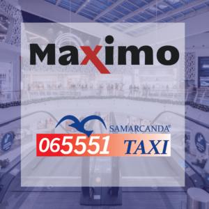 Samarcanda è centro commerciale Maximo