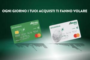 Richiedi le nuove Carte Alitalia Credit&Loyalty